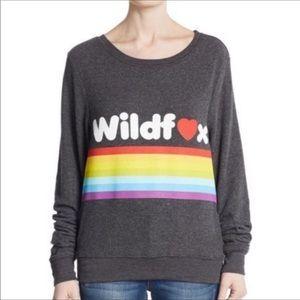 Wildfox Rainbow Dreams Come True pullover